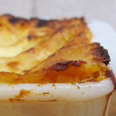 Lasagne de butternut à la sauge