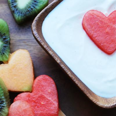 Dip pour fruits à la vanille